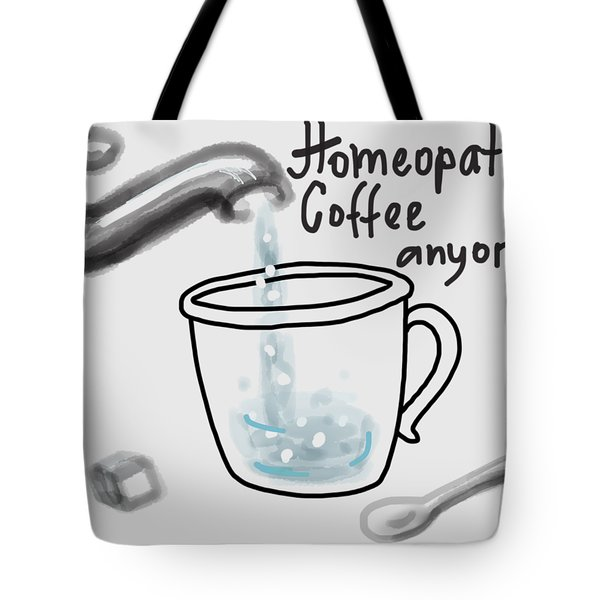 Homeopathic Coffee Tote Bag