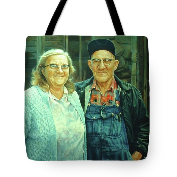 Homer And Oki Tote Bag