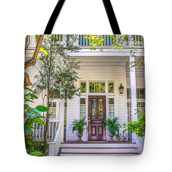 Homes Of Key West 4 Tote Bag
