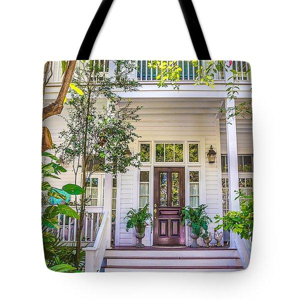 Homes Of Key West 4 Tote Bag