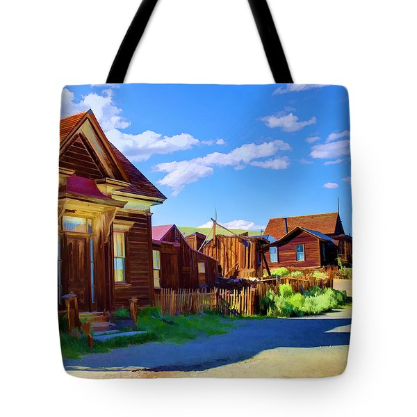 Homes Of The Past Tote Bag