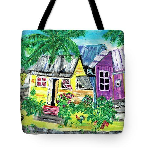 Homes, Sweet Island Homes Tote Bag