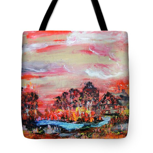 Homestead By Colleen Ranney Tote Bag