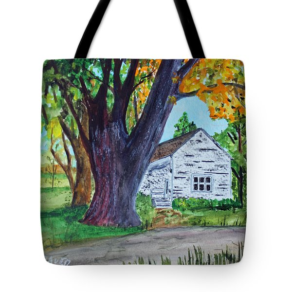 Homestead Colors Tote Bag by Jack G  Brauer