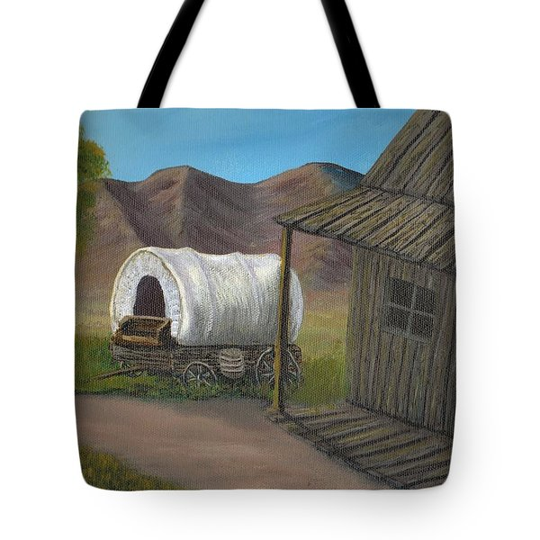 Homestead Tote Bag by Sheri Keith