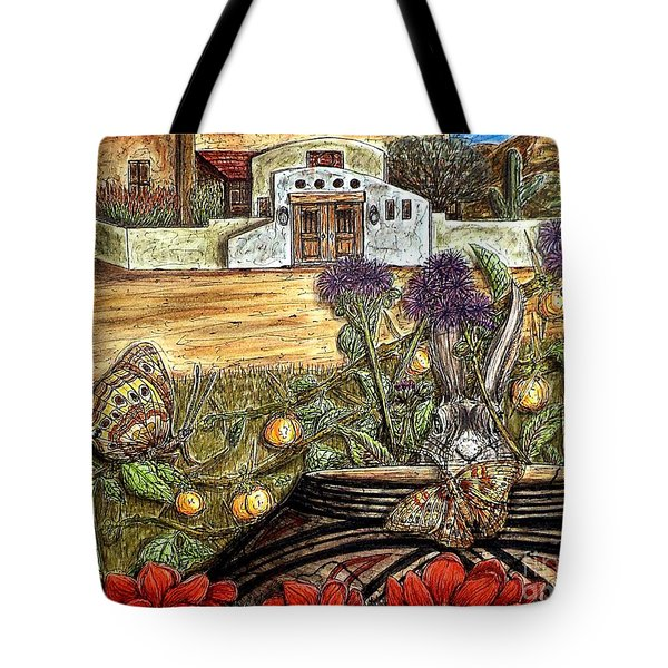 Homesteading Tote Bag by Kim Jones