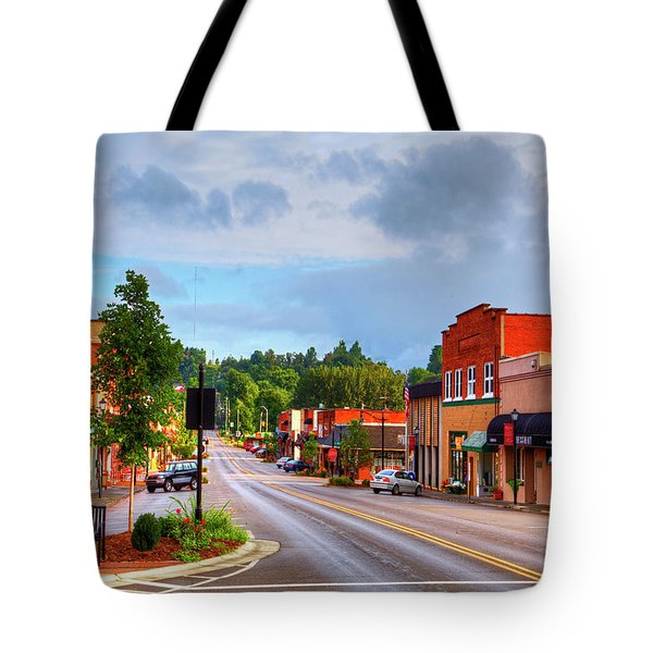 Hometown America Tote Bag