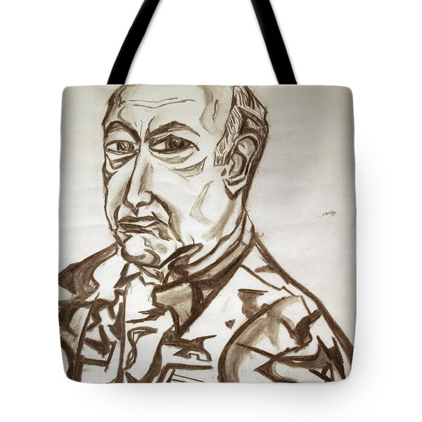 Homme Militaire Tote Bag by Robert SORENSEN