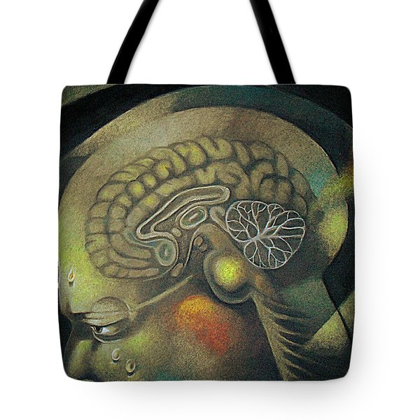 The Anxiety Of Knowledge Tote Bag