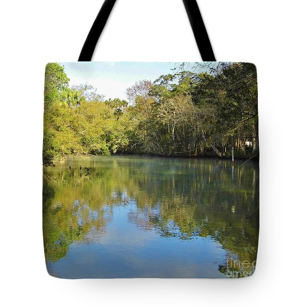 Homosassa River Tote Bag