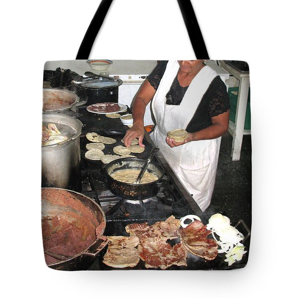 Tote Bag featuring the photograph Honduras Cooking by Beauty For God