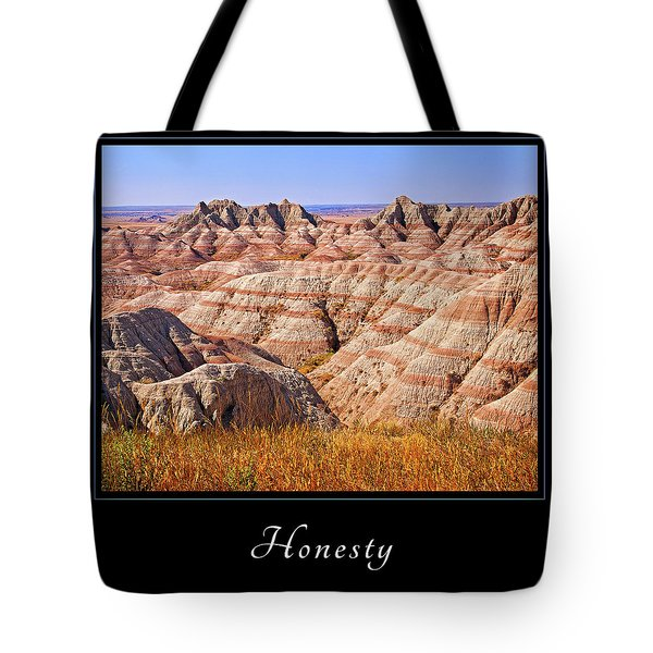 Honesty 1 Tote Bag