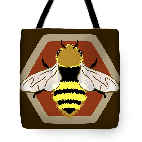 Honey Bee Graphic Tote Bag