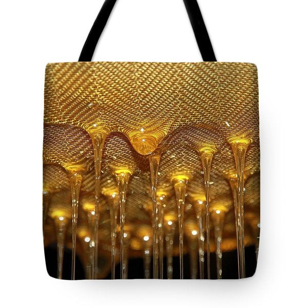 Tote Bag featuring the photograph Honey Drip by Stephen Mitchell