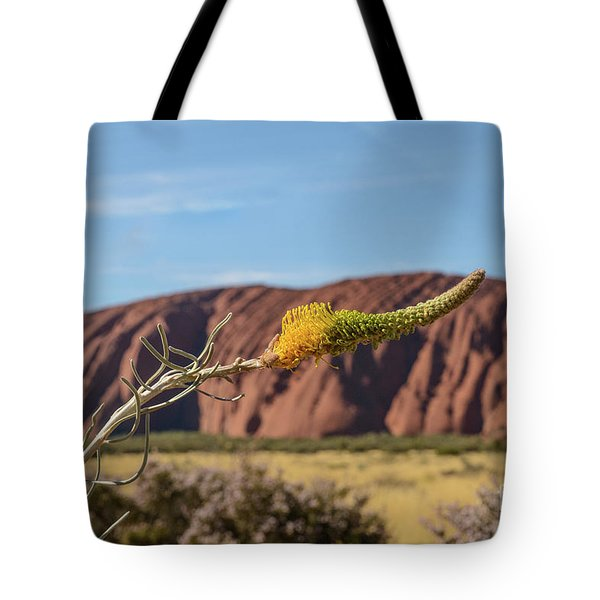 Tote Bag featuring the photograph Honey Grevillea 01 by Werner Padarin