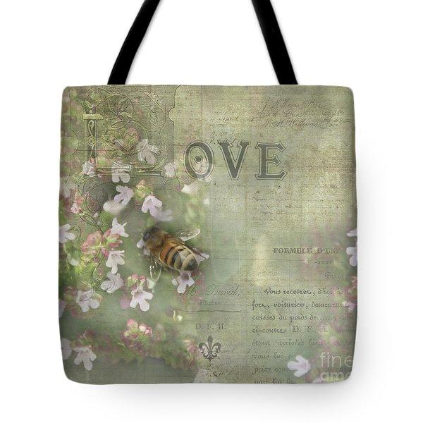 Honey Love Tote Bag