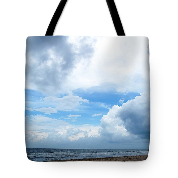 Tote Bag featuring the photograph Honey Moon Island North Beach by Chris Mercer