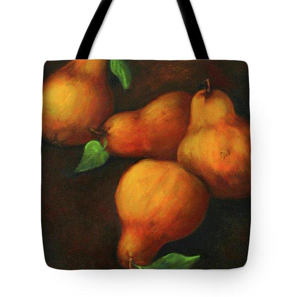 Honey Pears Tote Bag
