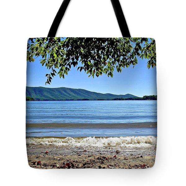 Honey Suckel Cove, Smith Mountain Lake Tote Bag