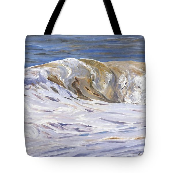 Honey Wave Tote Bag
