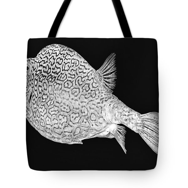 Honeycomb Cowfish Tote Bag