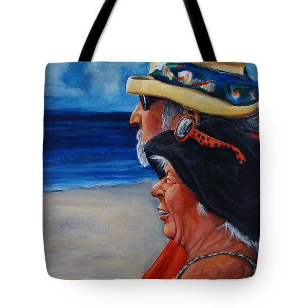 Honeymooners II Tote Bag by Jean Cormier