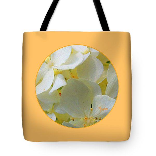 Honeysuckle Blossoms Tote Bag