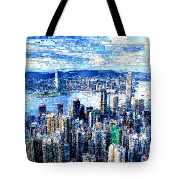 Hong Kong, China Tote Bag