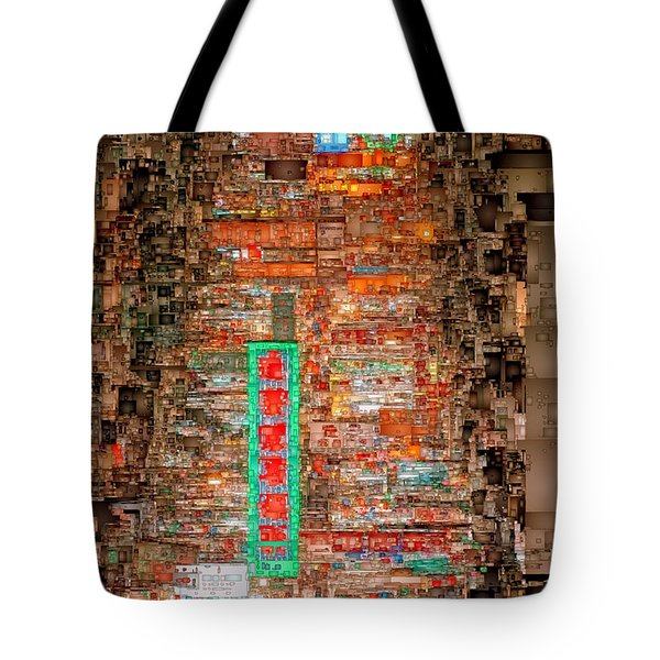 Hong Kong -yaumatei Tote Bag
