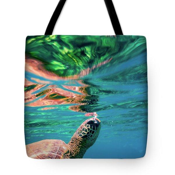 Hono Abstract Tote Bag
