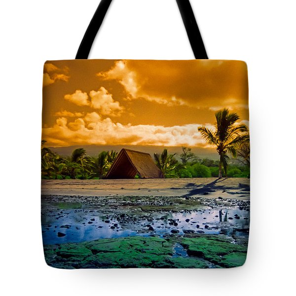 Tote Bag featuring the photograph Honokohau by Randy Sylvia