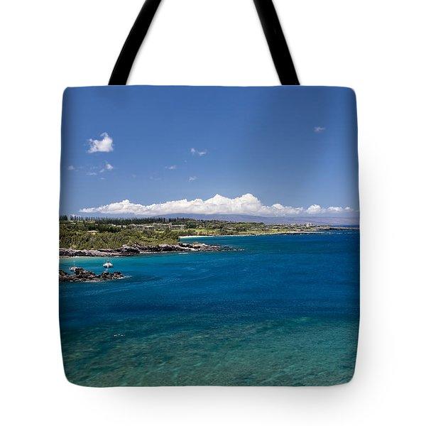 Honolua Bay Tote Bag