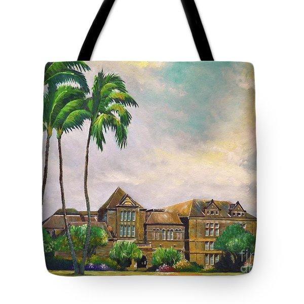 Honolulu Bishop Museum Tote Bag