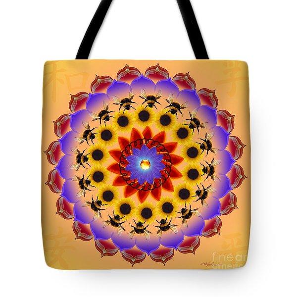 Honor The Bees Tote Bag by Elizabeth Alexander