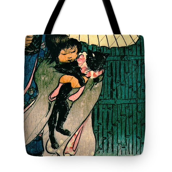 Honorable Mr. Cat 1903 Tote Bag by Padre Art