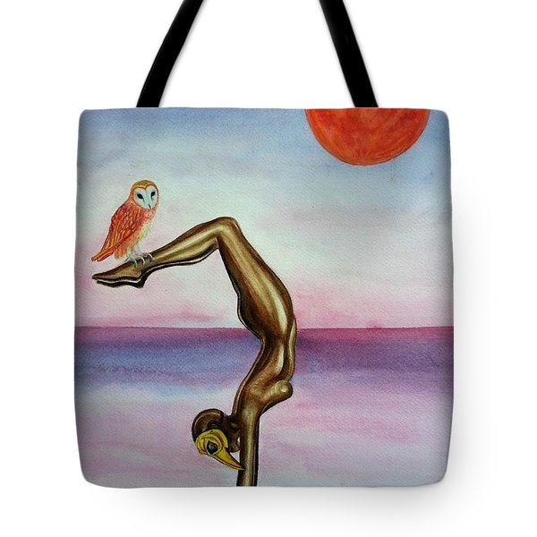 Honoring Owl Tote Bag
