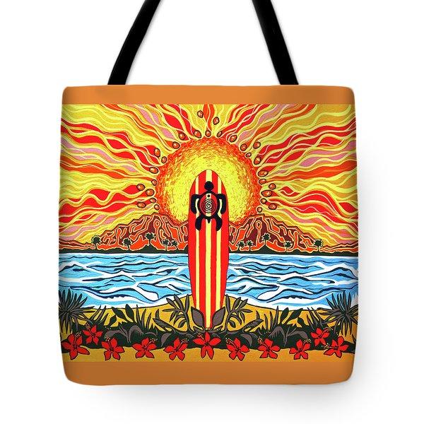 Honu Surf Tote Bag