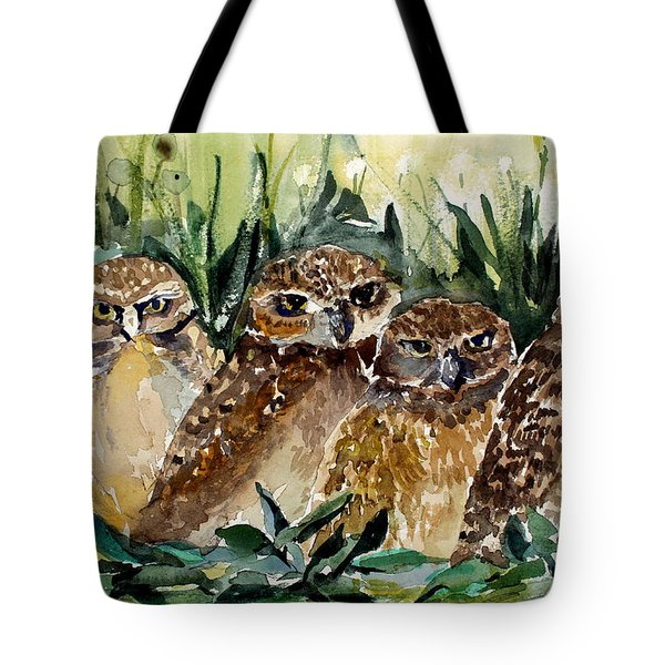 Hoo Is Looking At Me? Tote Bag
