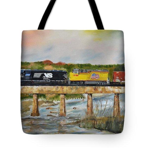 Hooch - Chattahoochee River - Columbus Ga Tote Bag