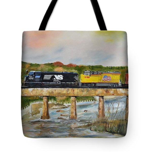 Hooch - Chattahoochee River - Columbus Ga Tote Bag