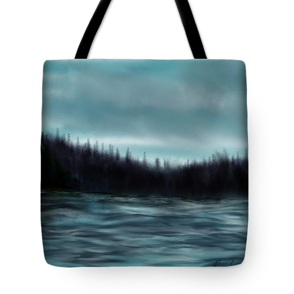 Hood Canal Puget Sound Tote Bag