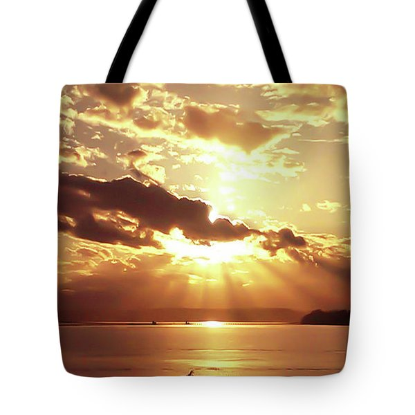 Hood Canal Sunset Tote Bag