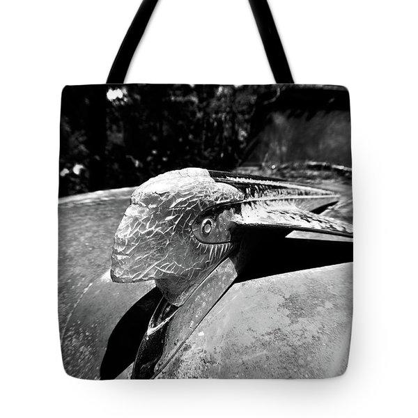 Hood Ornament Detail Tote Bag