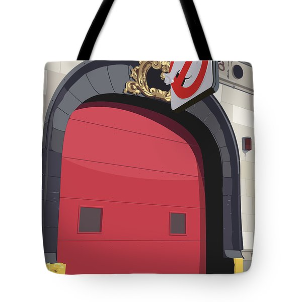 Hook And Ladder No. 8 Tote Bag by Kurt Ramschissel