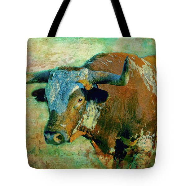 Hook 'em 1 Tote Bag by Colleen Taylor