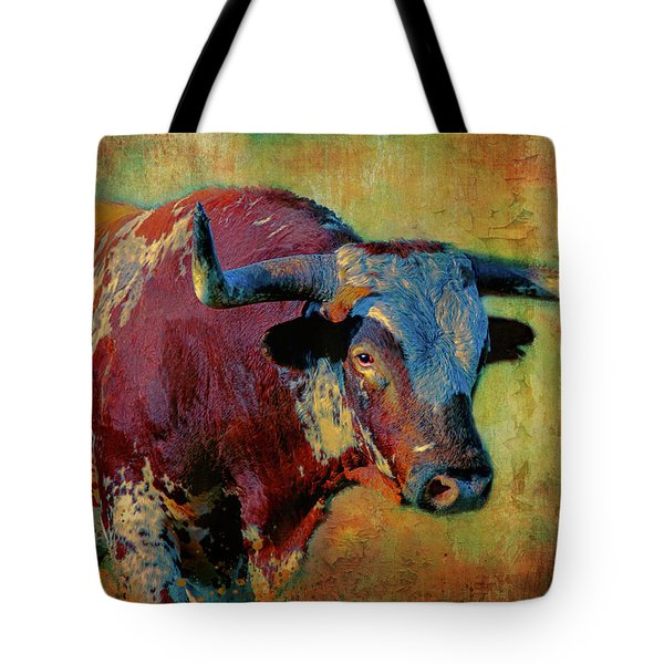 Hook 'em 2 Tote Bag by Colleen Taylor