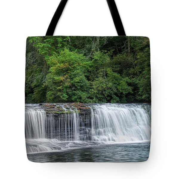 Hooker Falls Tote Bag by Steven Richardson