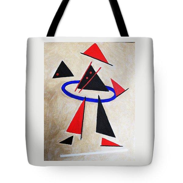 Hoola Hoop Tote Bag