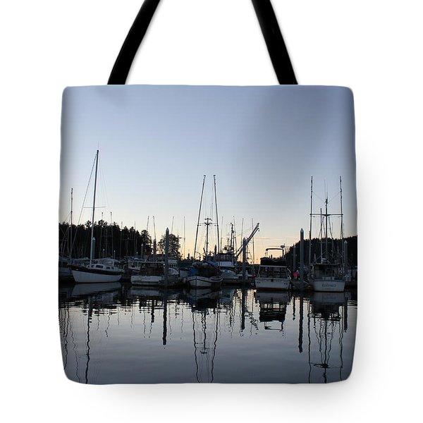Hoonah  Bay Tote Bag