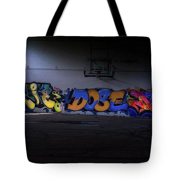 Hoop Dreams Tote Bag